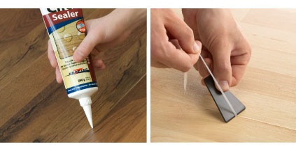 Kraftec Click Sealer Is A Ready To Use Joint Sealant Developed For The Moisture Resistant Sealing Of Joints In Glueless Flooring Systems Click Laminate